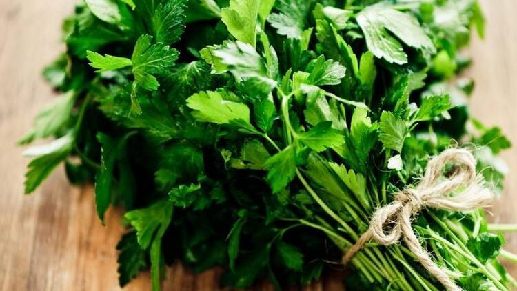 Mucize bitki maydanozun 10 faydası!