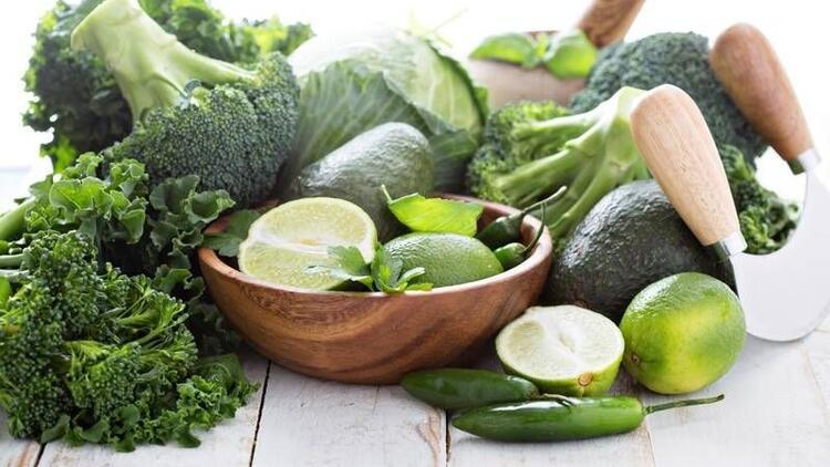 Avokado ve brokoli kalbi koruyor