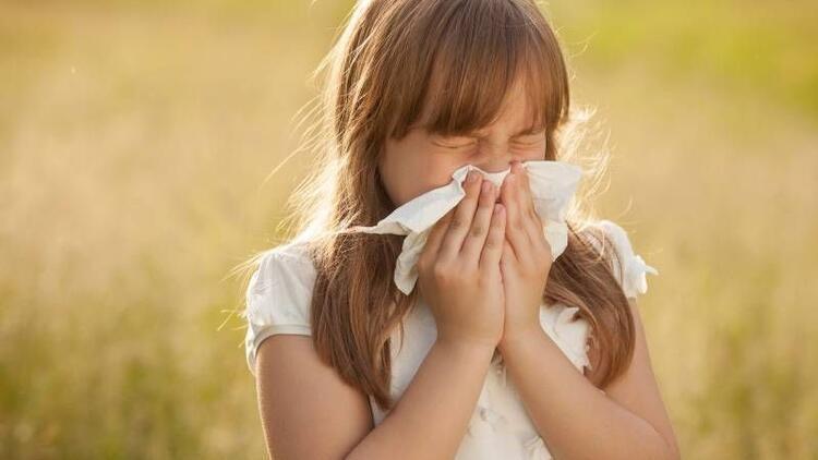 Çocuklarda polen alerjisine dikkat!