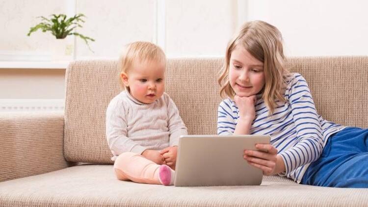 Çocuğunuz tablet kullanıyor diye sevinmeyin