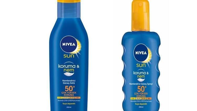 Nivea Sun ile bakım ve koruma bir arada