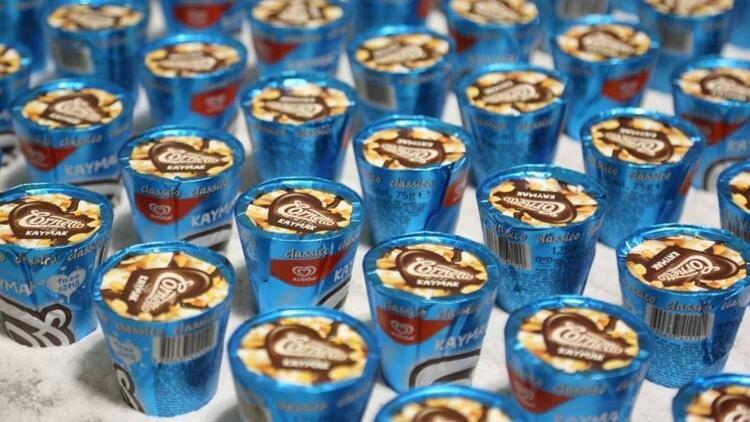 Dondurmanın Türkiye'deki üssü Algida Çorlu Fabrikası