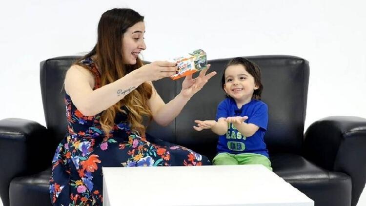 Kinder Surprise ile nostaljik oyuncakları keşfettiler
