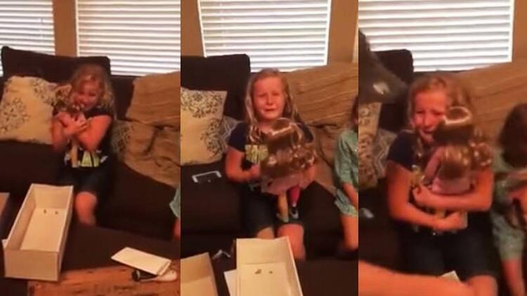 Aldığı hediye karşısında gözyaşlarına hakim olamadı