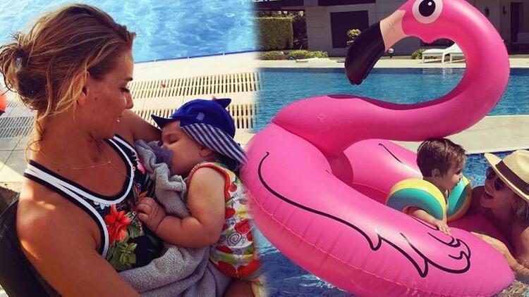 Ünlü anneler ve çocuklarının en güzel tatil kareleri