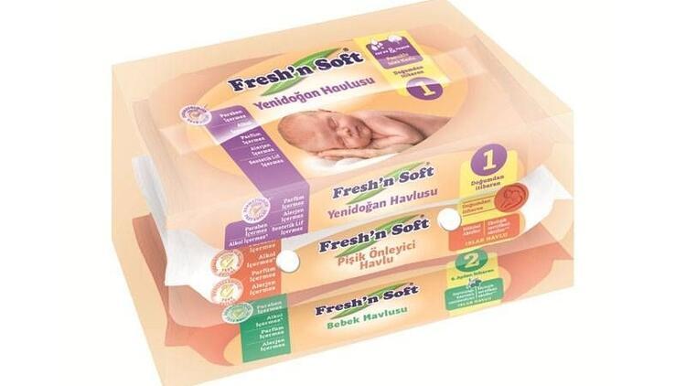 Fresh'n Soft  ıslak mendil sektöründe hedef büyütüyor