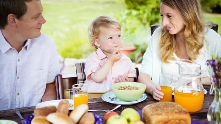 Küçük demeyin, sofranıza çocuğunuzu da dahil edin!