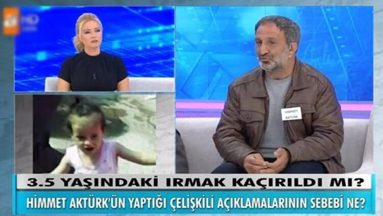 Irmak'ın katili cinayeti Müge Anlı'da itiraf etti