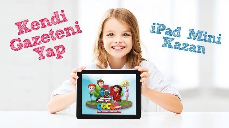 Kendi gazeteni yap, iPad Mini kazan