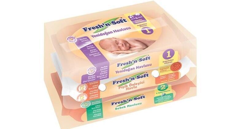 Fresh'n Soft ile bebeğiniz güvende!