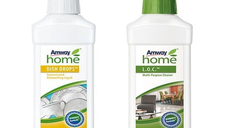 Amway Home bakım ürünleriyle temizlik daha konsantre!