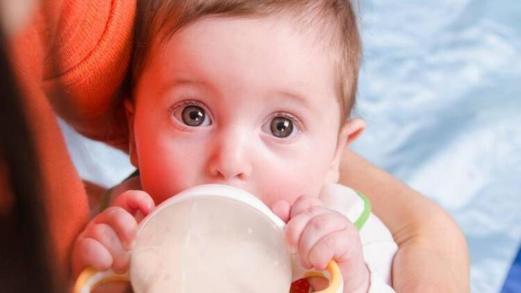 Çocuklarda görülen inek sütü alerjisine dikkat