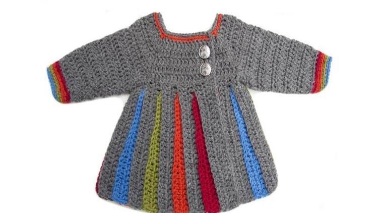 Kız çocukları için örme elbise nasıl yapılır?