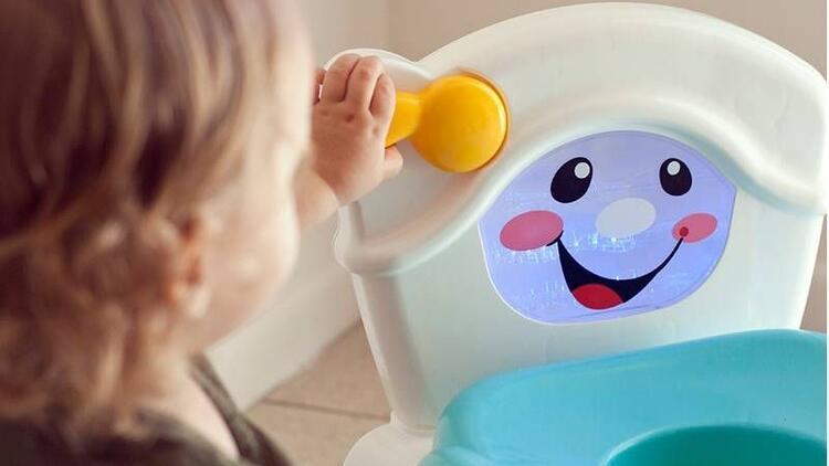 Tuvalet eğitimini eğlenceli hale getirin