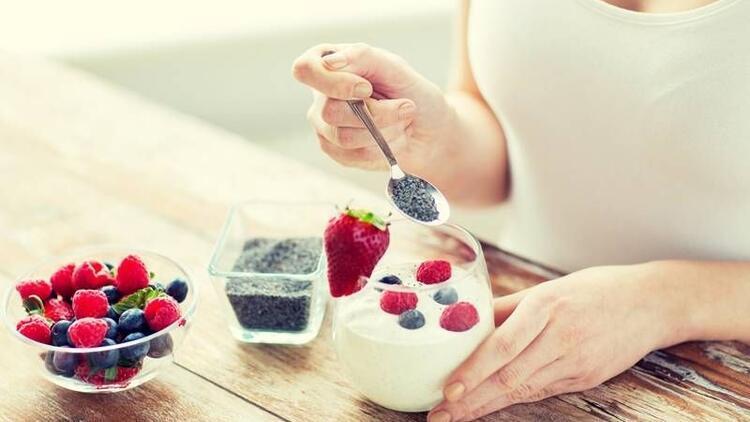 En çok tercih edilen diyet gıda: Chia tohumu