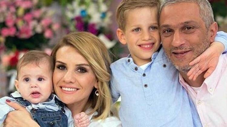 Esra Erol'un oğlu Ömer'in ilk kelimesi 'baba' oldu