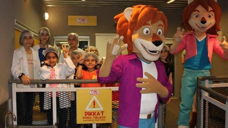 Max'ın en eğlenceli fabrikası KidZania'da açıldı
