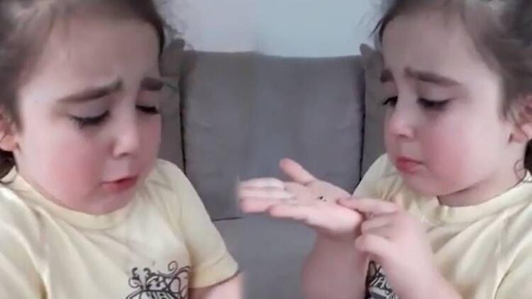 Uğur böcekleri öldü diye ağlayan minik