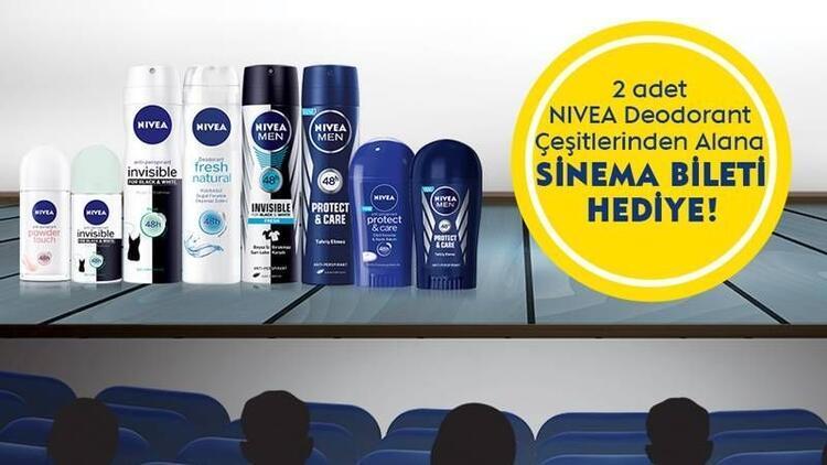 Nivea ile sinemaya keyfi yaşamaya var mısınız?