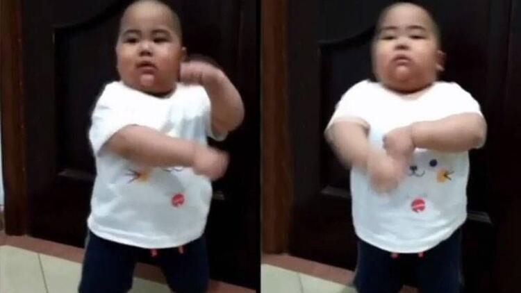 Dans eden sevimli instagram fenomeni bebek