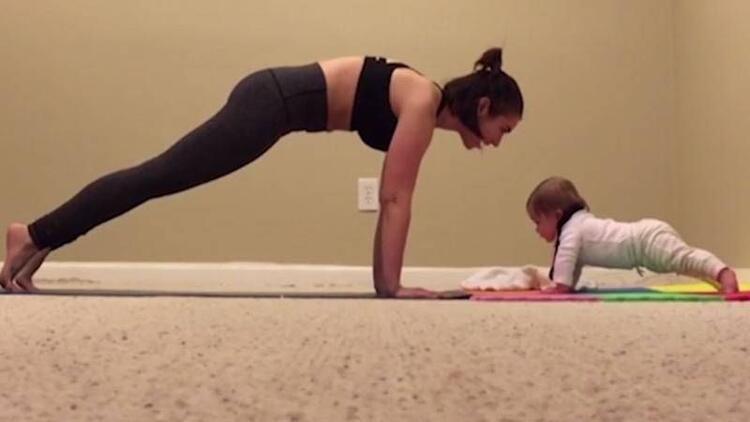 6 aylık bebek deyip geçmeyin!