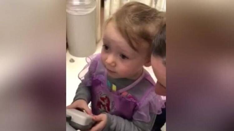 Kardeşinin kalp atışlarını duyan kızın şaşkınlığı