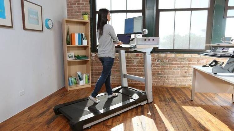 Ayakta çalışarak spor yapın, sağlığınızı geri kazanın