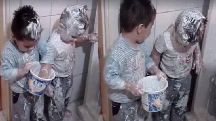 Böyle yoğurt yeme görmediniz!