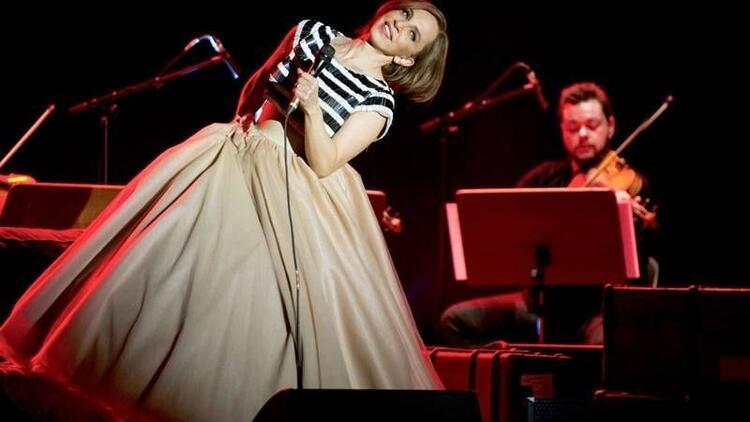Harbiye'de Sertab Erener ile müzikal gecesi
