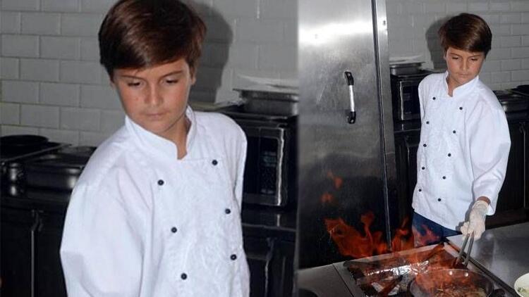 Mutfakta çocuk var!