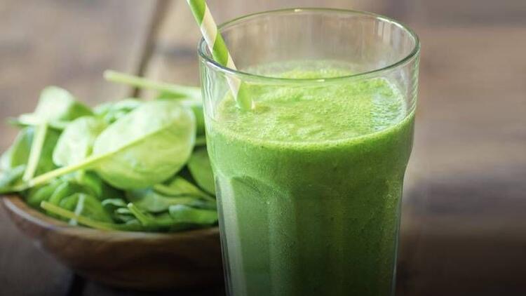Yeşil süt (Green milk) tarifi