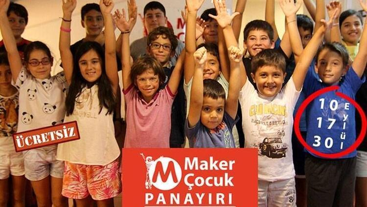 Maker Çocuklar üretiyor, #sendeyap güzel oluyor!
