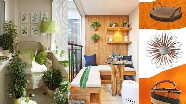 Küçük balkonlara hayat verin