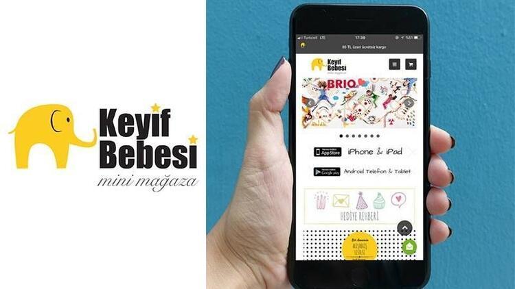 Keyif Bebesi Mobil Uygulamasıyla IOS ve Android'lerde