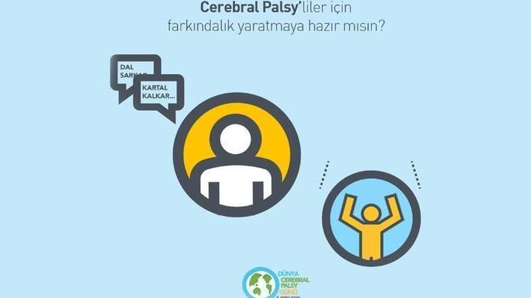Milyonlarca kişi Cerebral Palsy'liler için zıplayacak