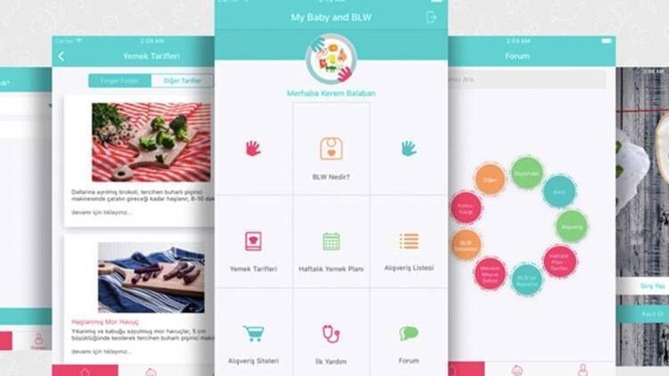 My Baby & BLW mobil uygulaması ile tanışın!