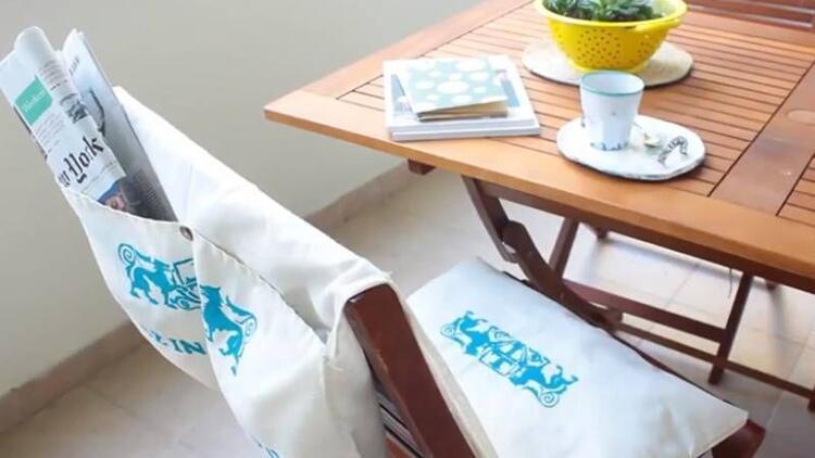 Cepli sandalye minderi nasıl yapılır?
