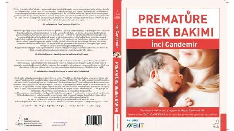"""Türkiye'nin ilk """"Prematüre Bebek Bakımı"""" kitabı"""
