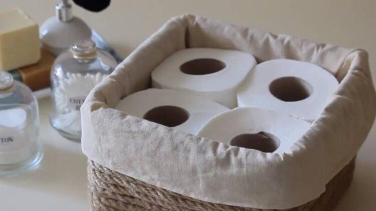 Tuvalet kağıtlarının da bir yuvası olsun