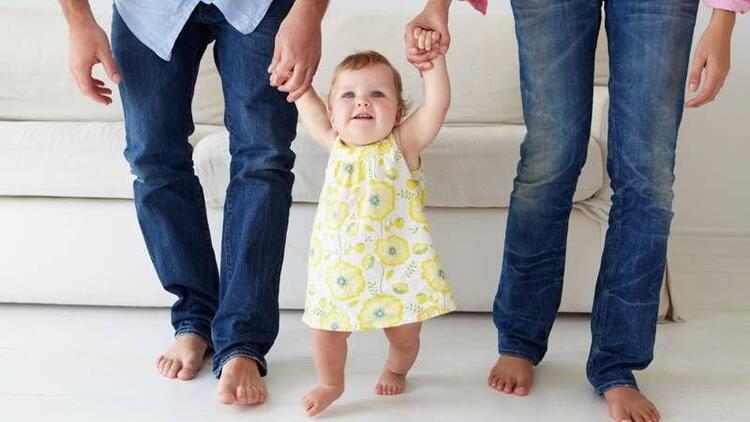Bebeğinizin ilk adımlarını mutlaka gözlemleyin