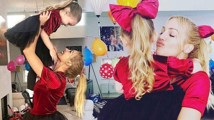 Meryem Uzerli'nin kızı Lara 4 yaşına bastı