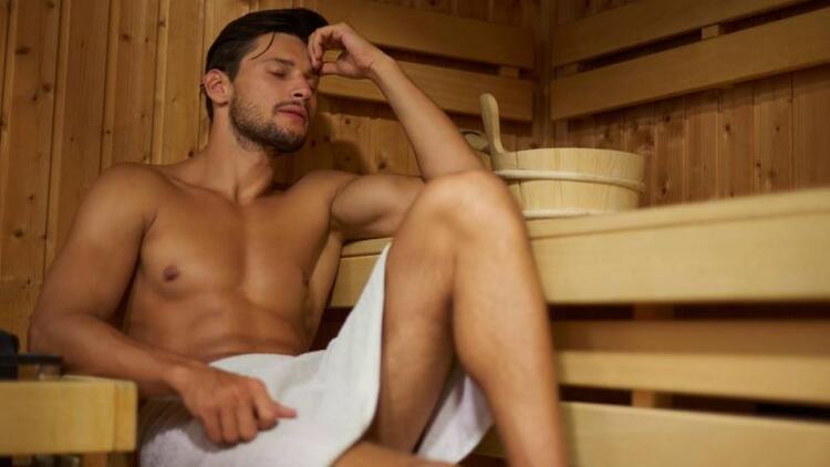 Hamamı ve saunayı seven erkekler risk altında!