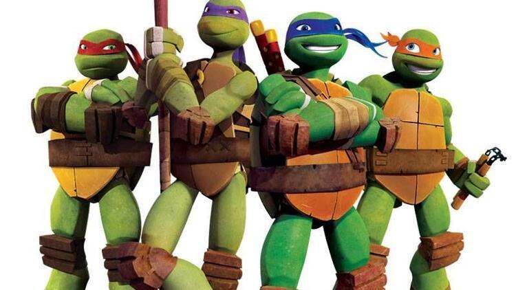 Ninja Kaplumbağalar Vadistanbul'da çocukları bekliyor