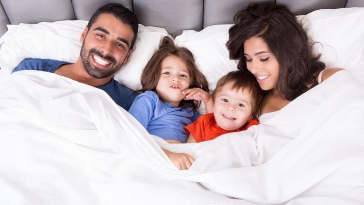 Mutlu çocuklar mutlu ailelerde yetişir