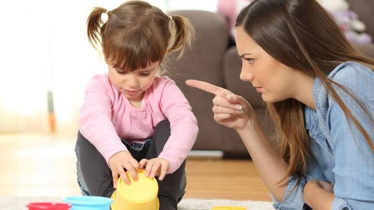 Çocuğa bağırarak otorite kurmaya çalışmayın!