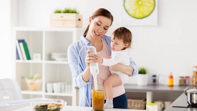 Bebeğinize mama hazırlarken blender kullanmayın