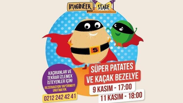 Süper Patates ve Kaçak Bezelye oyunu başlıyor
