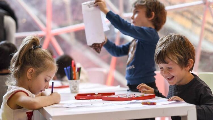 Çocuklar Ege Perla Okuma Atölyesi'ne bayılıyor