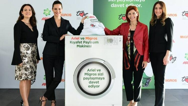 Kıyafet Bağış Kampanyası,çocukların yüzünü güldürecek