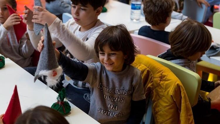 Çocuklara yeni yıl hediyesi: Sihirli çocuk atölyeleri